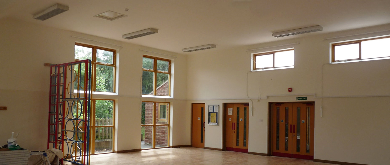 Commercial Hall Interior Painting
