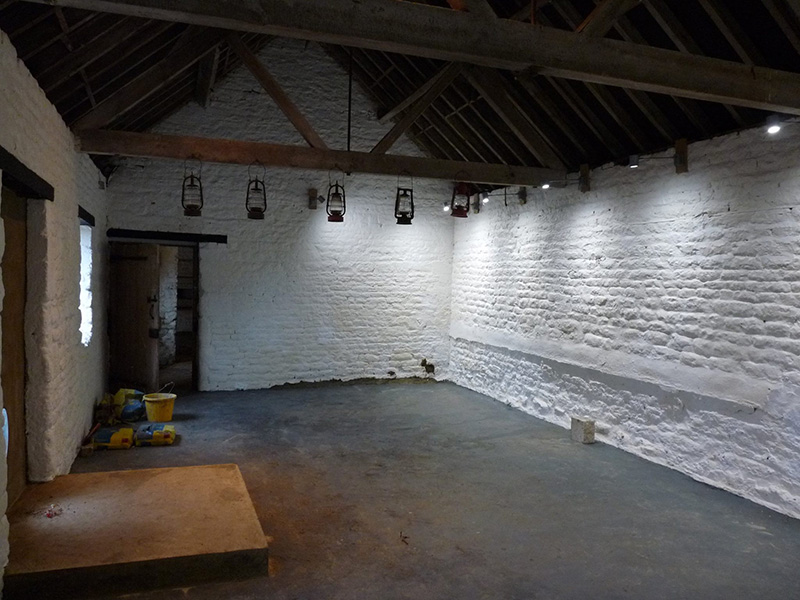 Farm Barn Interior Painting