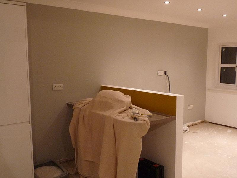 Interior Kitchen Painting
